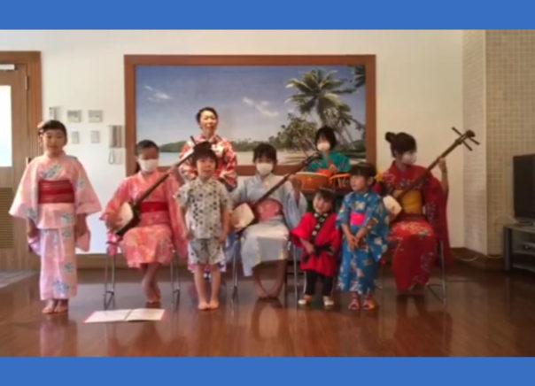 民謡明海会の三味線と歌